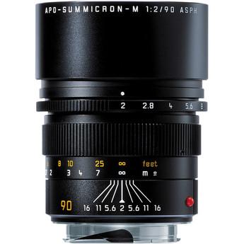 Leica Telephoto 90mm f/2.0 APO Summicron M Aspherical Manual Focus Lens