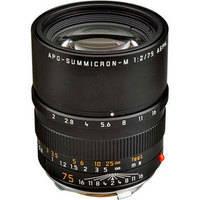 Leica Telephoto 75mm f/2.0 APO Summicron M Aspherical Manual Focus Lens