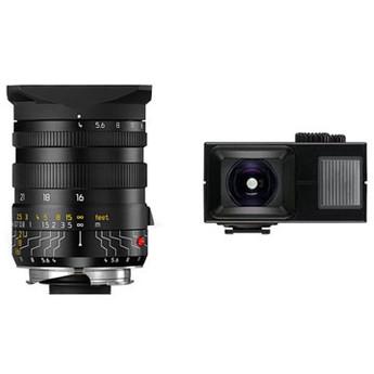 Leica 16-18-21mm f/4.0 M-Tri-Elmar 35mm Wide Angle Lens W/Universal Finder