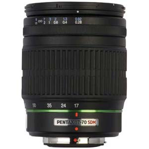Pentax SMC DA 17mm - 70mm f/4 Al (If) Sdm Super Wide Angle Auto Focus Zoom Lens