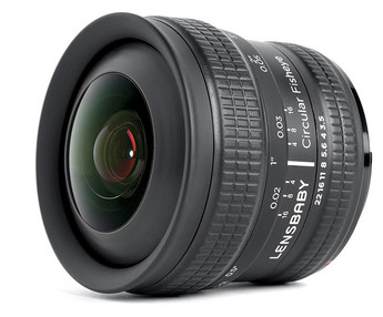 Lensbaby 5.8mm Circular Fisheye Lens