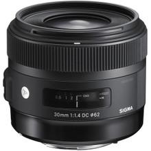 Sigma 30mm F1.4 ART DC HSM