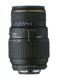 Sigma 70-300mm F4-5.6 Dl-M DG