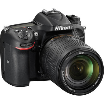 Nikon D7200 with 18-140mm VR Lens Ki