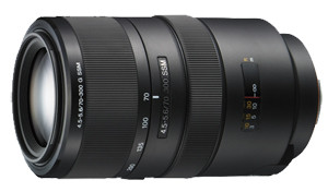 Sony 70-300mm G f/4.5-5.6 Ssm Lens