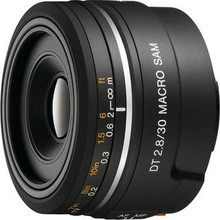 Sony Sal- 30mm f/2.8 DT AF Macro Lens
