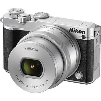 Nikon 1 J5 Mirrorless Digital Camera with 10-30mm Lens