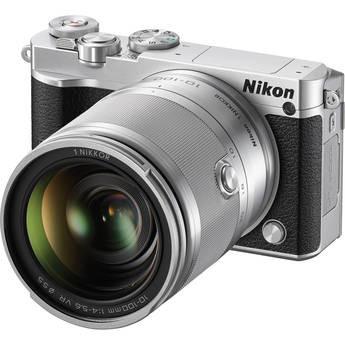 Nikon 1 J5 Mirrorless Digital Camera with 10-100mm Lens