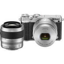 Nikon 1 J5 Mirrorless Digital Camera with 10-30mm and 30-110mm Lenses