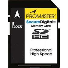 Promaster Vectra SD HC 8GB (Class 4) Memory Card
