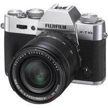 Fujifilm X-T10 Mirrorless Digital Camera with 18-55mm Lens