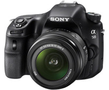 Sony a58 DSLR and 18-55mm Lens