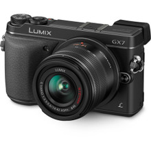 Panasonic Lumix DMC-GX7 Mirrorless Micro Four Thirds Digital Camera with 14-42mm f/3.5-5.6 Lens
