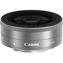 Canon EF-M22mm F2 STM (Silver)