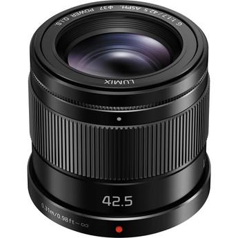 Panasonic Lumix 42.5mm f1.7 lens
