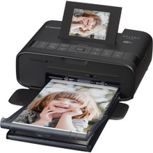 Canon SELPHY CP1200 Black Wireless Compact Photo Printer