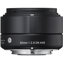 Sigma 30mm f/2.8 DN Lens for Sony E-mount Cameras (SIG33B)