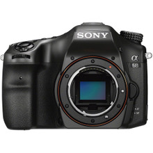 Sony Alpha a68 DSLR Camera with 18-55mm Lens (SONILCA68K)