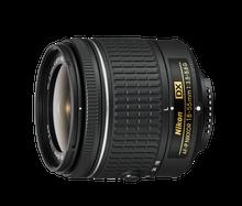 Nikon AF-P DX NIKKOR 18-55mm f/3.5-5.6G on your DX-format DSLR