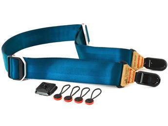 Peak Blue Slide Camera Strap (PEASLIB) , New York to California, Maryland and Connecticut