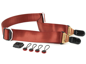 Peak Red Slide Camera Strap (PEASLIR), New York to California, Maryland and Connecticut