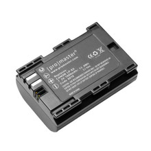 PROMASTER  LP-E6 XTRAPOWER LITHIUM ION REPLACEMENT BATTERY FOR CANON #6010, New York, California, Maryland, Connecticut