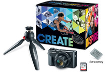 Canon PowerShot G7 X Mark II Digital Camera Video Creator Kit