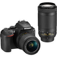 Nikon D5600 with 18-55mm & 70-300mm lenses