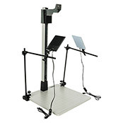"42"" Pro-Duty Copy Stand w/LED Light Kit"