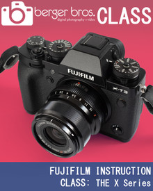 Postponed - FUJIFILM INSTRUCTION CLASS