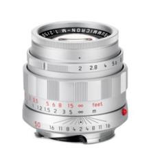 Leica APO-Summicron-M 50mm f/2 ASPH Silver 50th Anniversary Special Edition Lens