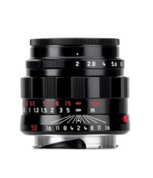 LEICA APO-SUMMICRON-M 50MM F/2 ASPH BLACK 50TH ANNIVERSARY SPECIAL EDITION LENS