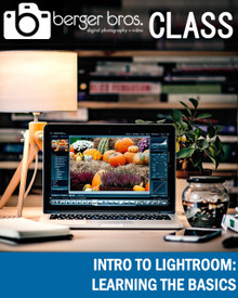 10/06/20  - Intro to Lightroom: Learning The Basics