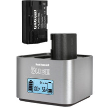 hahnel ProCube Twin Charger for Canon and AA Batteries