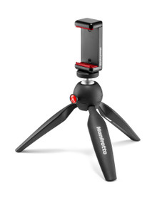 Mini Tripod Black with Universal Smartphone Clamp