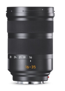 Leica Super-Vario-Elmarit-SL 16-35/f3.5-4.5 ASPH Lens, for Leica SL and Leica T Series