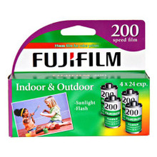 Fujifilm FujiColor CA-135-24 (ISO 200) 35mm Color Negative Film (Pack Of 4 Rolls)