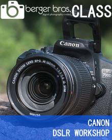 08/04/21 - CANON BASICS DSLR WORKSHOP