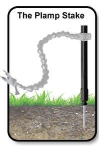 Plamp® Stake - Stand alone pole for mounting your plamp in the field.