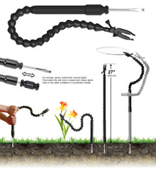 Ground Plamp® - Combining the best features of the Plamp II® and our Plamp® Stake in a compact package