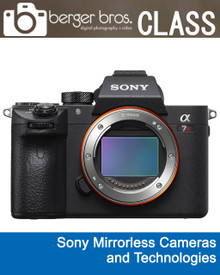 01/29/19 - Sony Mirrorless Cameras and Technologies