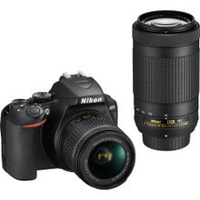 Nikon D3500 DSLR Camera with 18-55mm and 70-300mm Lenses (In Stock)