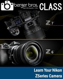 05/02/19 - Learn Your Nikon Z6 or Z7