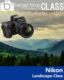 03/23/19 -  Nikon Landscapes and Travel Seminar
