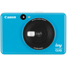 Canon IVY CLIQ Instant Camera Printer (Seaside Blue)