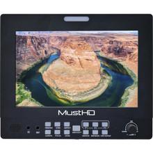 "MustHD Hyper-Brite 1920 x 1200 7"" 3G-SDI/HDMI Field Monitor"
