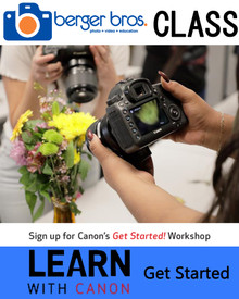 Postponed - Learn With Canon: Get Started (Beginner)