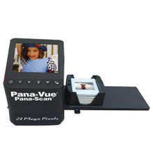 Pana-Scan Pana-Vue APA145 Portable Stand-Alone 23 Mega Pixels 35mm Slide & Film Scanner