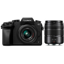 Panasonic Lumix DMC-G7 Mirrorless Micro Four Thirds Digital Camera with 14-42mm and 45-150mm Lenses