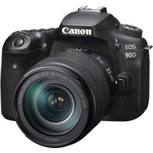 Canon EOS 90D DSLR Camera (18-135)